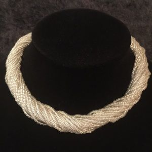 Jewelry - Multi-strand Seed Bead Twist Choker N012